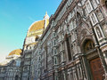 Santa maria del fiore the basilica di also called duomo in florence italy Stock Photos