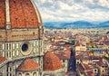Santa Maria del Fiore, Florence, Italy Royalty Free Stock Photo
