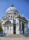 Santa Maria della Salute church in Venice Royalty Free Stock Image
