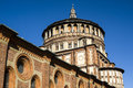 Santa Maria delle Grazie (Milan, Italy) Royalty Free Stock Photo