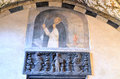 Santa maria di castello interior of the church museum genoa italy Royalty Free Stock Photography