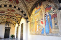 Santa maria di castello interior of the church museum genoa italy Royalty Free Stock Photos