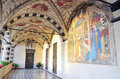 Santa maria di castello interior of the church museum genoa italy Stock Photo