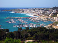 Santa Maria di Leuca harbour Stock Photography