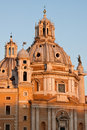 Santa Maria di Loreto, Rome Royalty Free Stock Photo