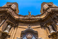 Santa maria di porto salvo church at merchant street in valletta Royalty Free Stock Photography