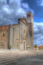 Santa maria in hdr church cabras tone Stock Image