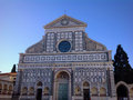 Santa maria novella in florence view of italy Royalty Free Stock Photo