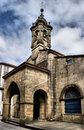 Santa Maria Salome church Royalty Free Stock Image