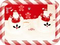Santa and others decorations photo of to beautify a website enriched your website professionally with this beautiful card improve Royalty Free Stock Photo