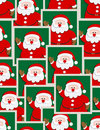 Santa portraits Royalty Free Stock Photo