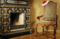 Santa's Armchair Royalty Free Stock Images