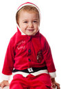 Santa's baby Royalty Free Stock Photography