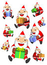 Santa's gifts Royalty Free Stock Image