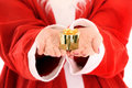 Santa's present Royalty Free Stock Images