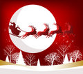 Santa's Sleigh Royalty Free Stock Images