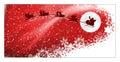 Santa's sleight Royalty Free Stock Photo