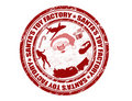 Santa's Toy Factory stamp Royalty Free Stock Photography