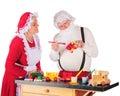 In Santa's Workshop Royalty Free Stock Photo