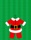 Santa Suit Vector Royalty Free Stock Photos