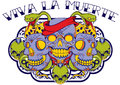 Santa trinidad vector illustration ideal for printing on apparel clothing Stock Images