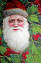 Santa victorian time. Royalty Free Stock Photography