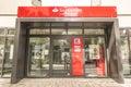 Santander subsidiary of the consumer bank Royalty Free Stock Photography