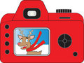 Santas Camera Royalty Free Stock Photos