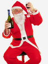 Santas Toast Royalty Free Stock Photo