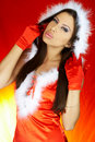 Santas Woman Stock Images