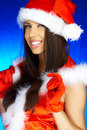 Santas Woman Stock Image