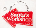 Santas Workshop Stock Photos