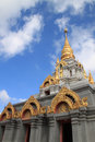Santi keree temple in doi mae salong chiang rai thailand Stock Photos