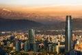 Santiago de Chile Royalty Free Stock Photo
