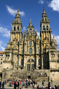 Santiago de compostela cathedral galicia spain this roman catholic church is the reputed burial place of apostle saint james the Stock Photos