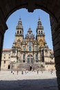Santiago de Compostela Cathedral, Spain Royalty Free Stock Photography