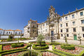 Santiago de compostela spain view of universitary school next to the cathedral one of the most important christian pilgrimage Stock Image