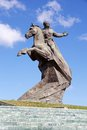 Santiago de cuba antonio maceo monument in Stock Photo