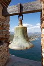 Santiago de cuba the bell for the alarm during the pirates attack at the castillo del morro morro castle at the Royalty Free Stock Photography