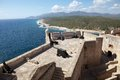 Santiago de cuba castillo del morro morro castle at the with a seascape Stock Image