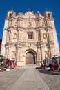 Santo domingo church in san cristobal de las casas mexico the Royalty Free Stock Photo