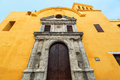 Santo Domingo Church View Royalty Free Stock Photo