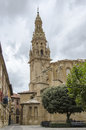 Santo domingo de silos in burgos spain church Royalty Free Stock Photos