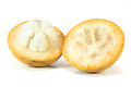 Santol fruit on white background Royalty Free Stock Photos