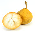 Santol fruit on white background Stock Photography
