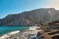 Santorini beach, Greece Royalty Free Stock Photo