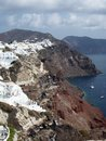 Santorini Caldera by Day Royalty Free Stock Photo