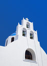 Santorini church - Greece Royalty Free Stock Photography