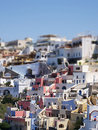 Santorini fira TS Royalty Free Stock Photos