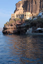 Santorini harbour Royalty Free Stock Photography